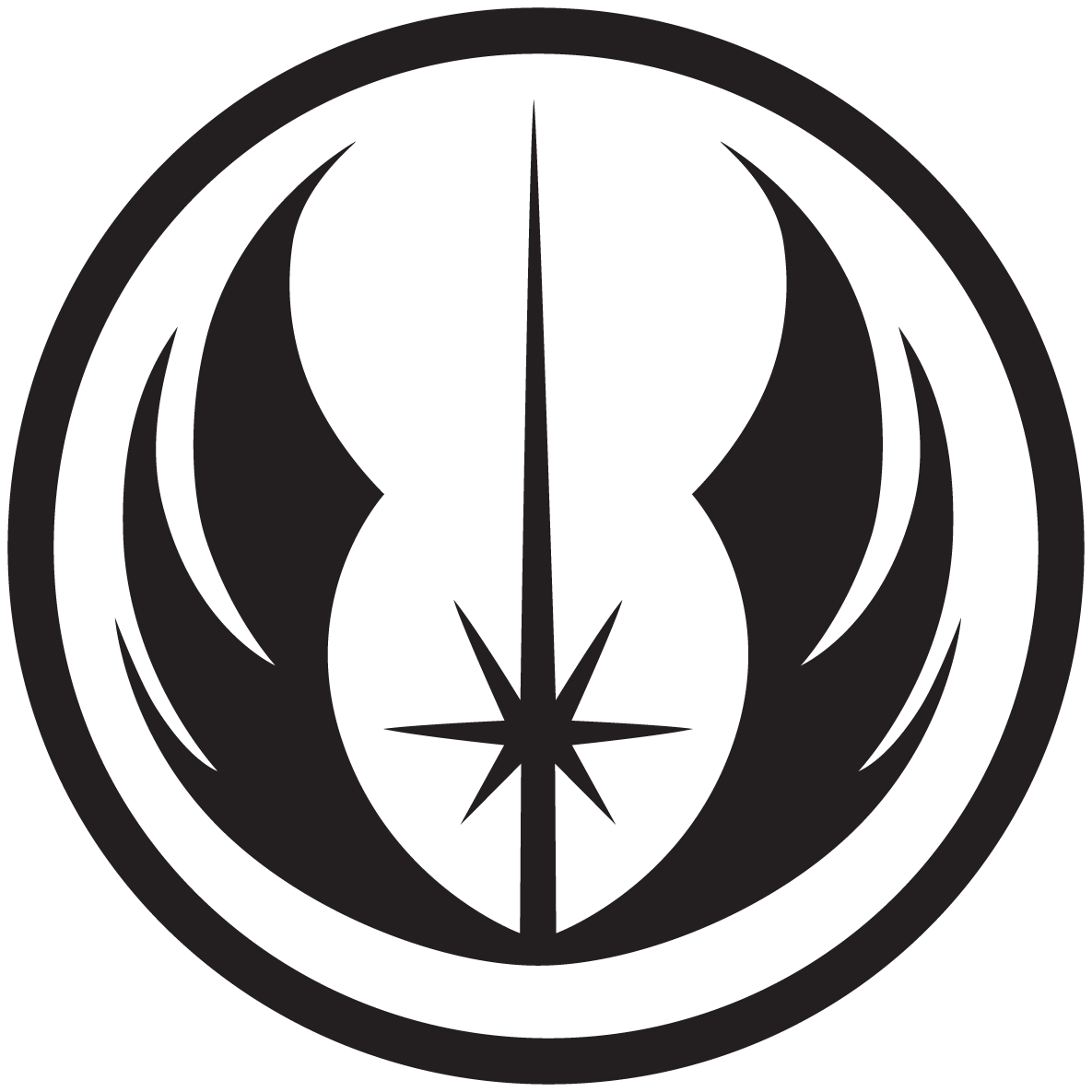 Star wars logos wallpapers by swmand4 on deviantart jedi order symbol buycottarizona Choice Image