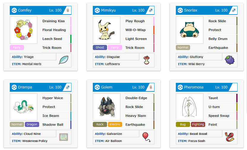 QR Teams Sharing Thread - Nuzlocke Forum