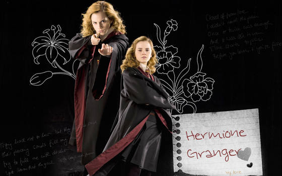 Hermione Granger Wall