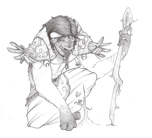 Druid apprentice