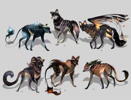 Maned Wolfpack Adopts11 (closed) by Furrirama