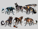 Maned Wolfpack Adopts11 (closed)