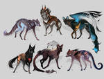 Maned Wolfpack Adopts12 (closed)