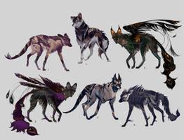 Maned Wolfpack Adopts13 (closed) by Furrirama