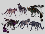 Maned Wolfpack Adopts13 (closed)
