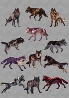 Wolfs Mega pack ADOPT2 OPEN by Furrirama