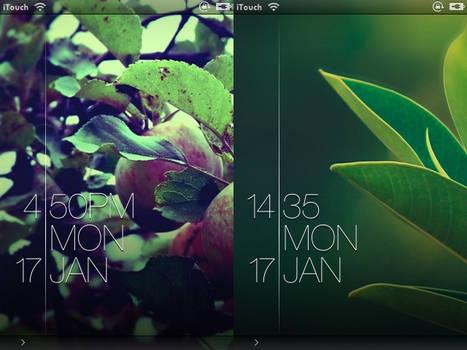 Blink - iOS LockScreen