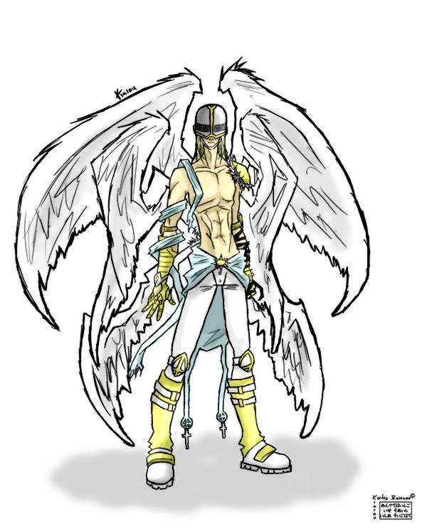 Angemon By C Plaus On Deviantart Jogress / digixros (+1 digimon). angemon by c plaus on deviantart