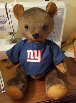 NY Giants Bear