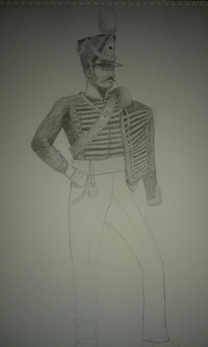 WIP: Prussian Hussar by AnarchistSubHuman
