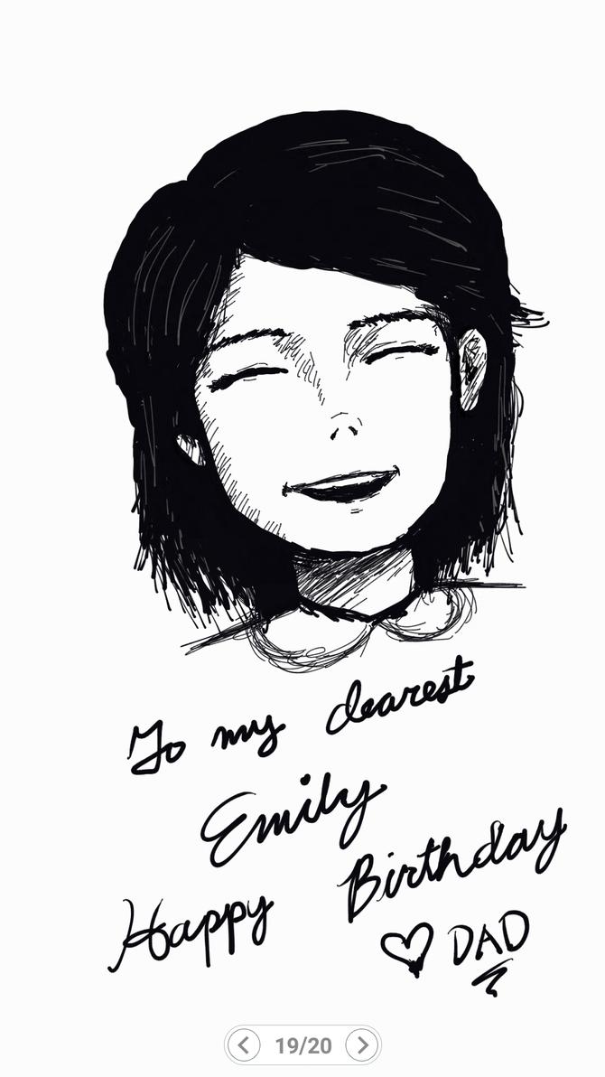 Birthday Sketch by AnarchistSubHuman
