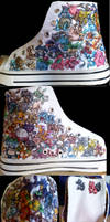 Original 151 Pokemon Shoes by Misakochan