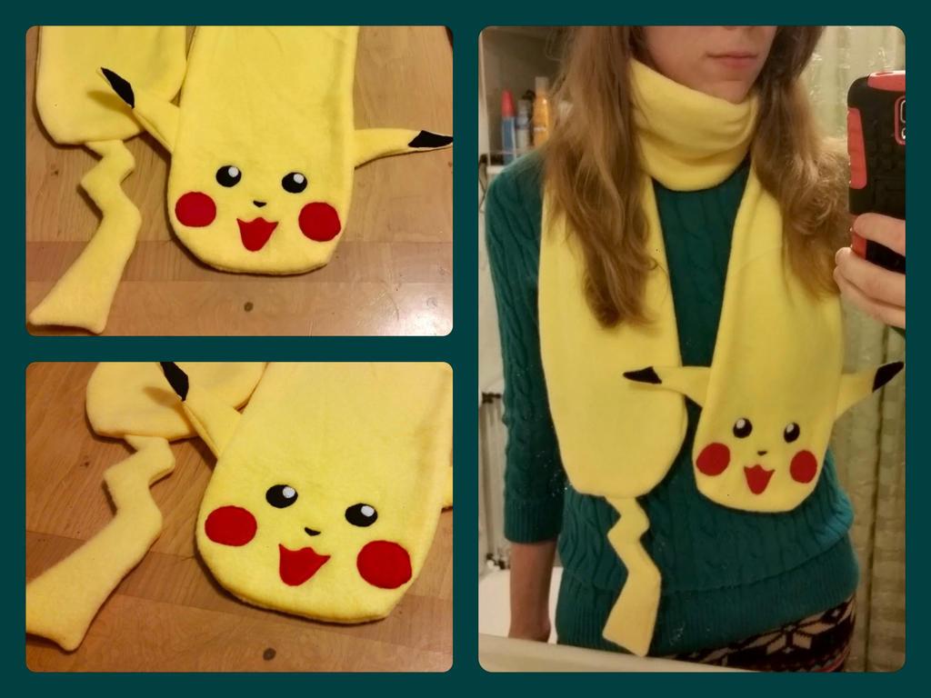 Pikachu Scarf by Misakochan