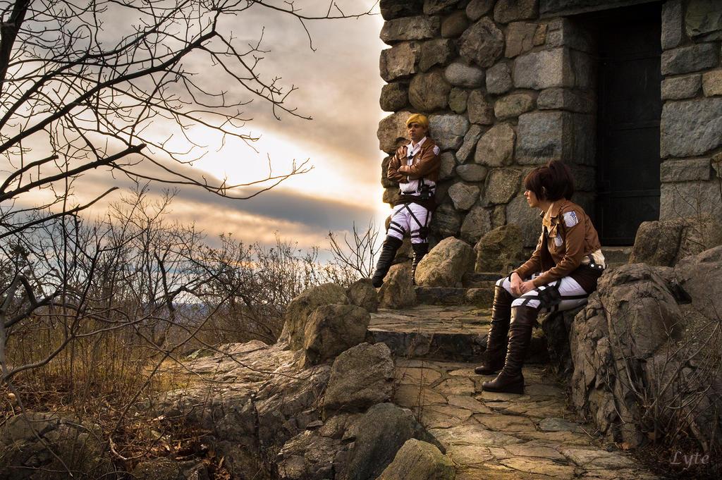 Attack on Titan: Command Post by Misakochan