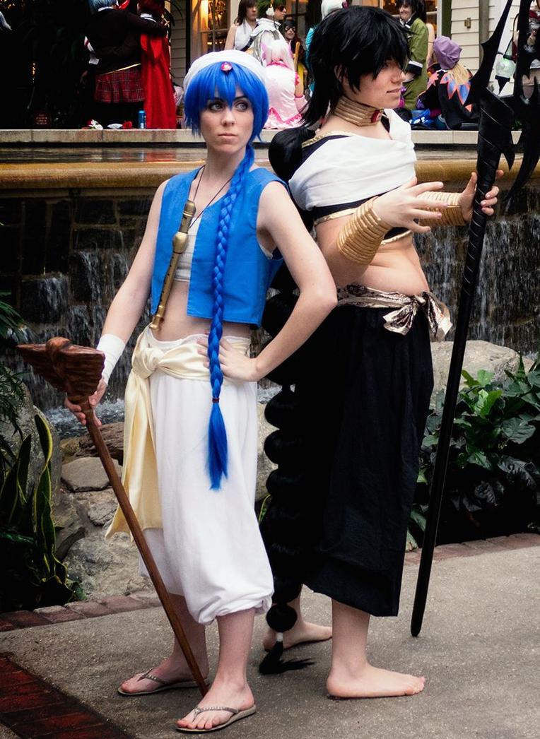 Magi- Aladdin and Judar by Misakochan