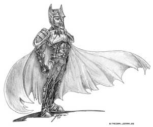 JL - Medieval Batman by jomra