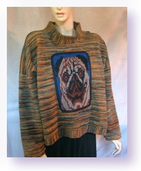 pug sweatshirt by nellielaan