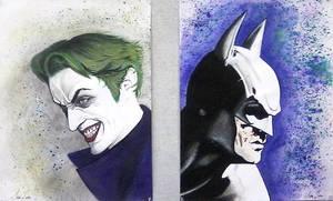 Batman and the Joker: A Diptych