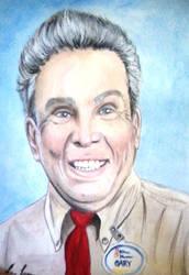Watercolor Portrait of Gary White