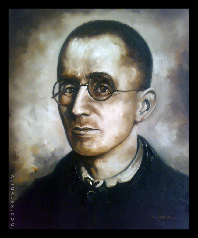 Bertolt Brecht by Alimalek