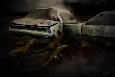 Road of horror by Alimalek
