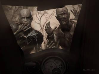 zombie by Alimalek
