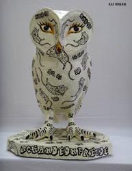 Owl by Alimalek