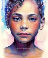 Blue Child by XRlS
