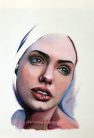 Study in oil paints by XRlS