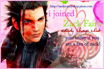 Zack's Candy Shop Club Banner