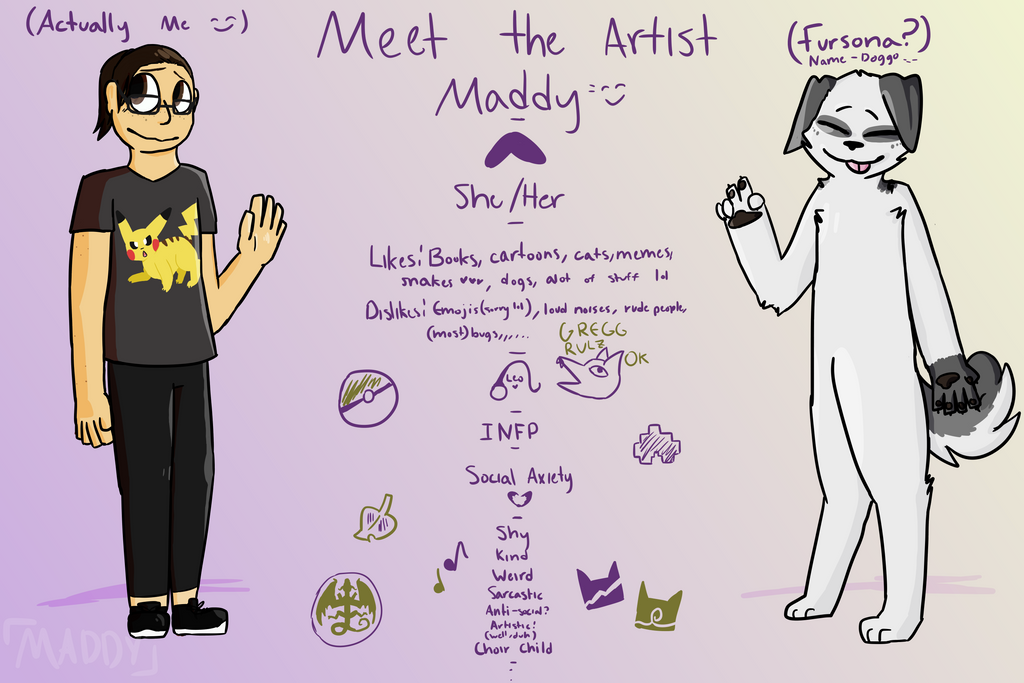 Meet the Artist! by maddy-the-doggo