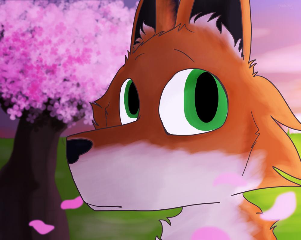 Cherry Blossom Girl by maddy-the-doggo