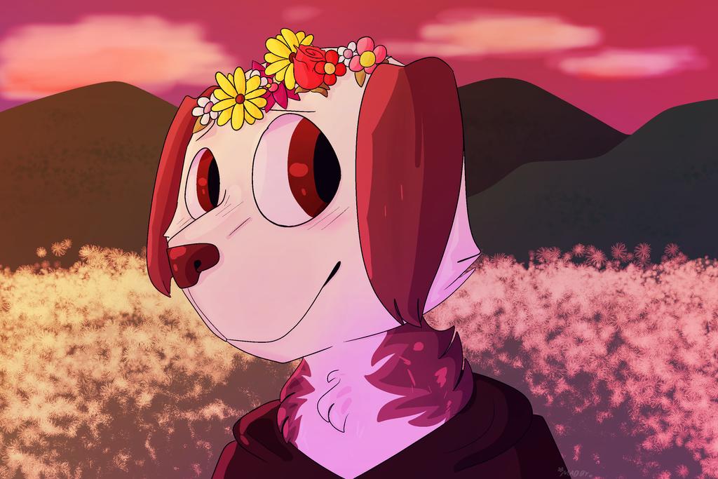 Dandelions by maddy-the-doggo
