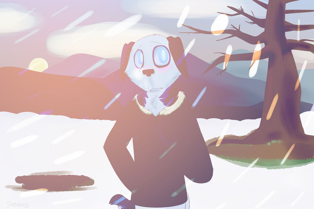Frostbite by maddy-the-doggo