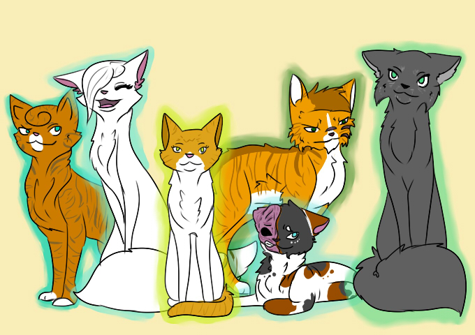 All Characters by Beachygrl92