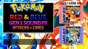 Pokemon SFX Gen 2: Red, Blue, Yellow Attack Sounds