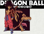 DRAGON BALL MANGA COVER: Super Saiyan Ozaru Goku