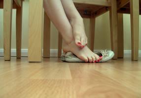 Shoe Tease 2 by Foxy-Feet