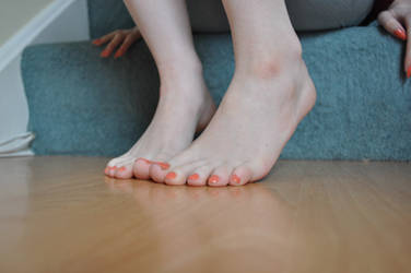 Barefoot Around The House 2 by Foxy-Feet