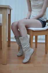Pretty Boots by Foxy-Feet