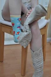 Showing Balloon Socks by Foxy-Feet
