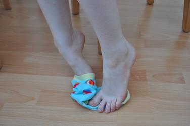 Socks Off Please by Foxy-Feet