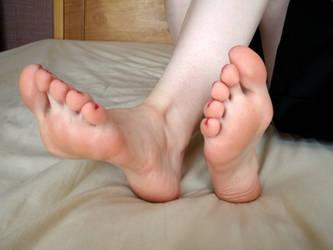 Uniform - Close Feet by Foxy-Feet