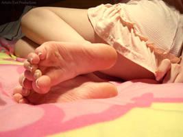 Scrunchie Request by Foxy-Feet