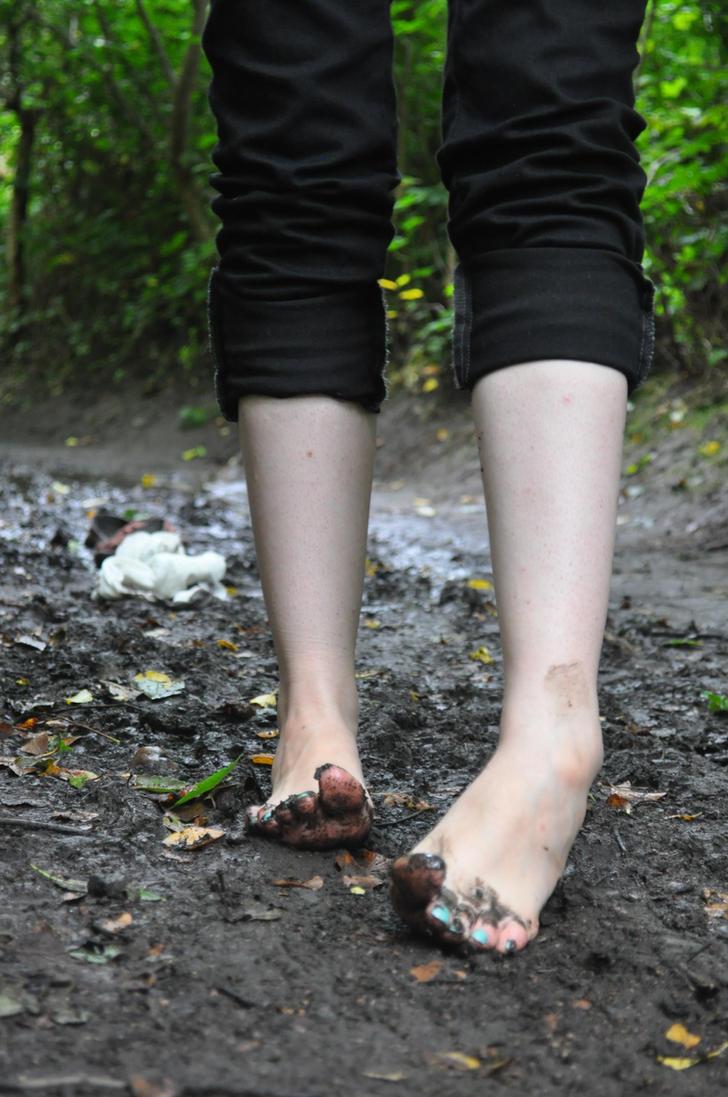Muddy Little Model by Foxy-Feet on DeviantArt