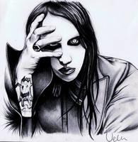 Marilyn Manson by AZIZA-FEMI