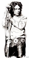 Jim Morrison by AZIZA-FEMI