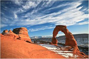 Delicate Arch by tourofnature