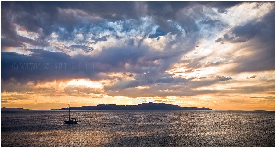 Solstice Sailing by tourofnature