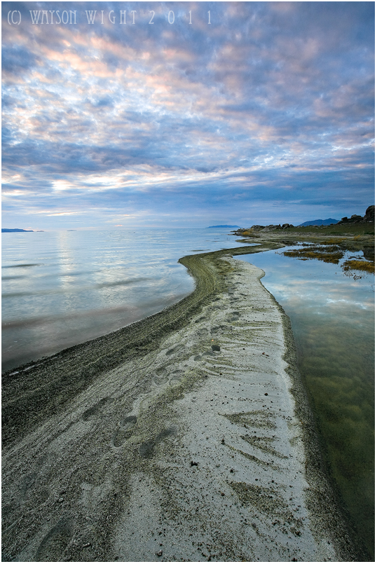 Great Salt Lake Blues by tourofnature
